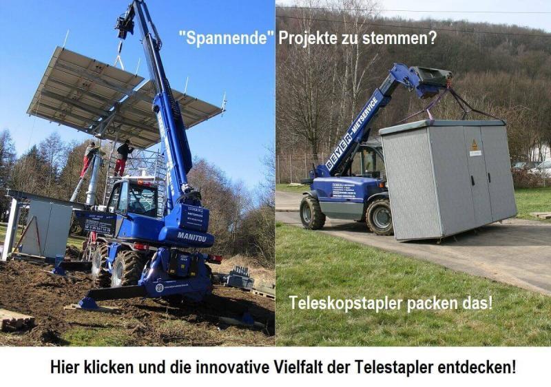 Ob drehbarer oder starrer Teleskopstapler hängt oft von der individuellen Situation auf der Baustelle ab. Jetzt Produktprogramm anschauen und passende Maschine finden!