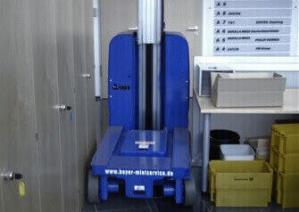 Kompakt und wendig: Die TMB 81 E