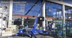 Scheibe für Scheibe: Minikrane und Arbeitsbühnen sind das perfekte Team bei Glasmontagen