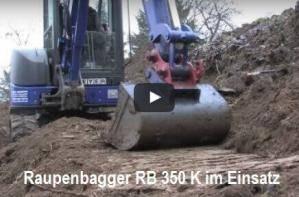 Erde bewegen: Der RB 350 zeigt es Ihnen mit bewegten Bildern!