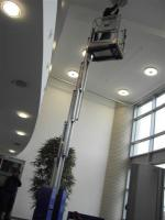 Emissionsfreie Teleskopmastbühnen von BEYER-Mietservice