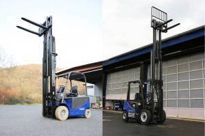 Diesel- und Elektro-Stapler von BEYER-Mietservice