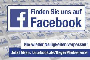 BEYER-Mietservice auf Facebook